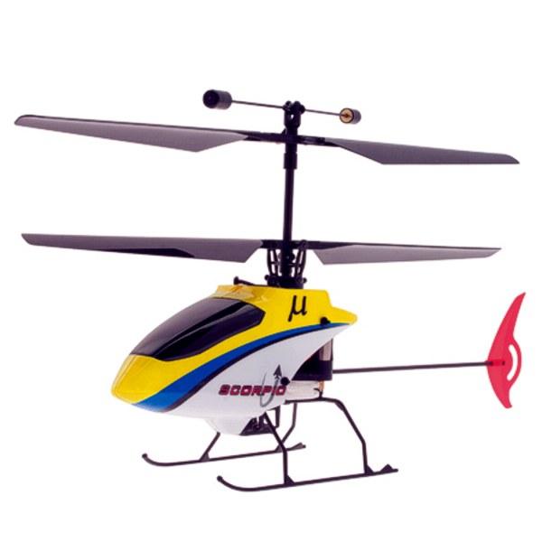Elicottero Grigio : Elicottero rc scorpio mode es m km modellismo