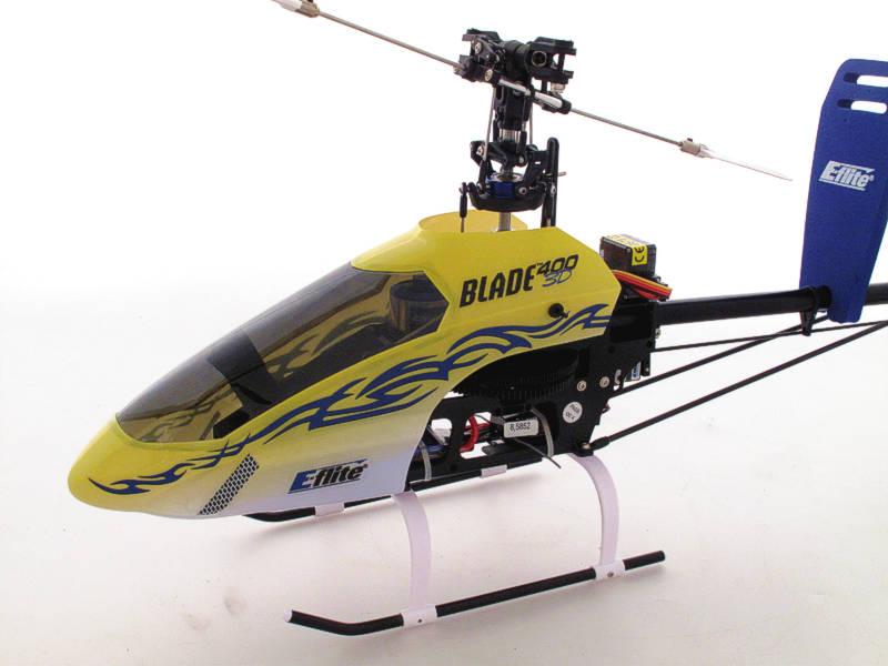 Elicottero 450 Usato : Elicottero e flite blade d rtf usato modellismo il