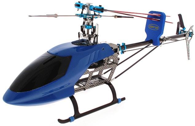 Elicottero 500 : Elicottero rc sabattini falcon blu f in carbonio
