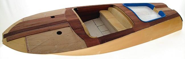 Motoscafo rc amati riva aquarama 1970 usato modellismo for Motoscafo riva aquarama