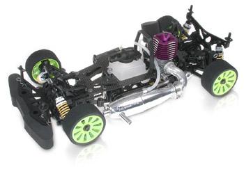 Auto RC a scoppio Serpent 710 1:10 4WD #802000 km.0 modellismo