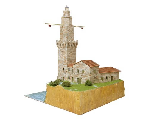 Faro di Porto Pi - Scala 1:80 aedes AS1259