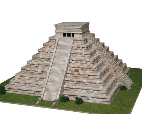 Tempio di Kukulcan - Scala 1:175 aedes AS1270