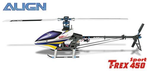 Elicottero Align T Rex 450 : Elicottero align t rex sport kit kx modellismo
