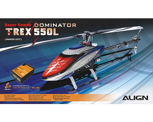 Elicottero T Rex Usato : Align elicottero t rex l dominator super combo