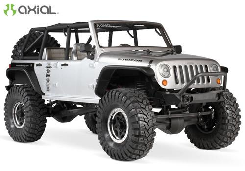 Automodello Axial Scx10 Jeep Wrangler Unlimited Rubicon 1