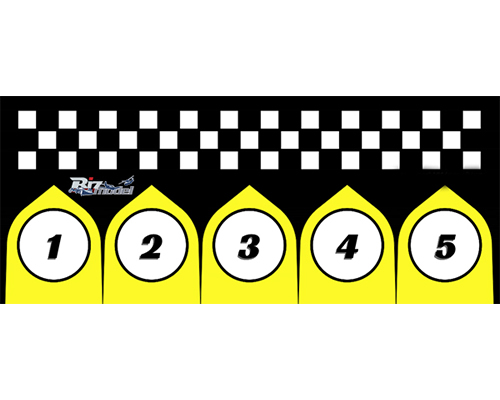 Start Pads for Racing Class 75x170cm bizmodel PADLAND001
