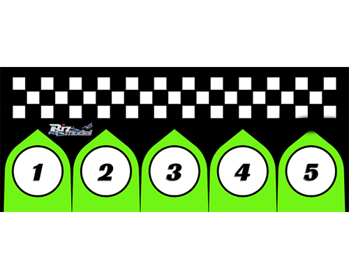 Start Pads for Racing Class 75x170cm bizmodel PADLAND003