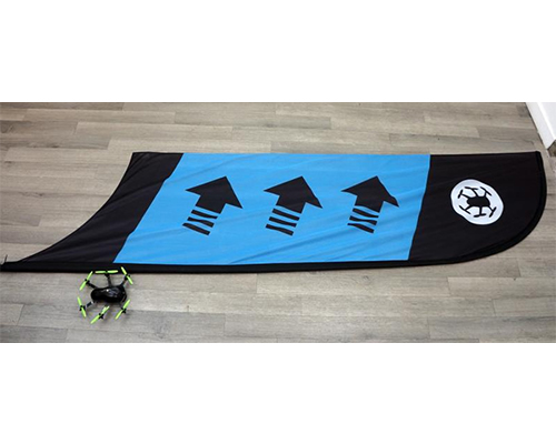 Racing Flag Checkpoint/Curve Blue bizmodel TBSRACB