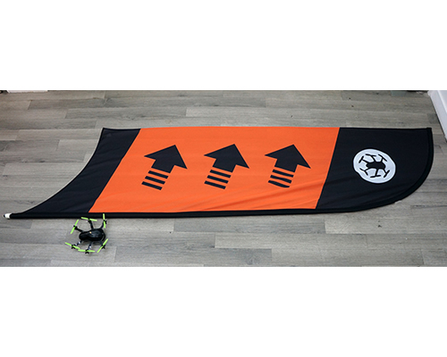 Racing Flag Checkpoint/Curve Orange bizmodel TBSRACO