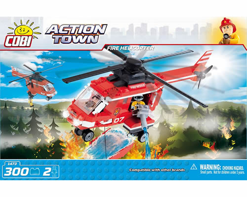 Fire Helicopter cobi CB1473