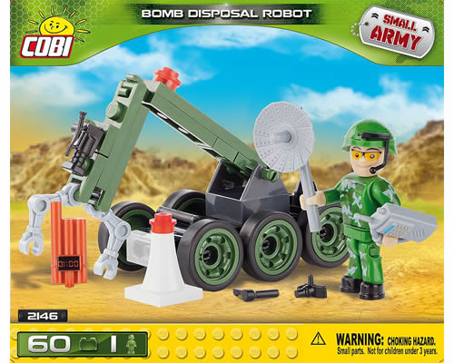Bomb Disposal Robot cobi CB2146