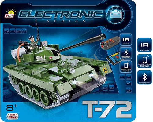 Carro armato T-72 Bluetooth cobi CB21904