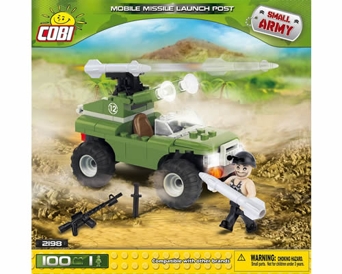 Mobile Missile Launch Post cobi CB2198