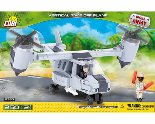 Vertical Take Off Plane cobi CB2360