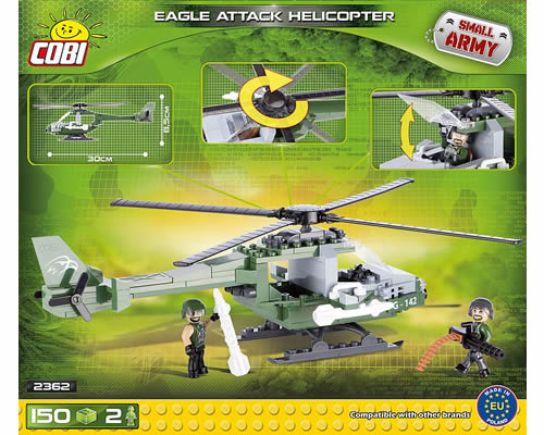 Eagle Attack Helicopter cobi CB2362