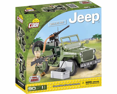 Jeep Willys MB cobi CB24092