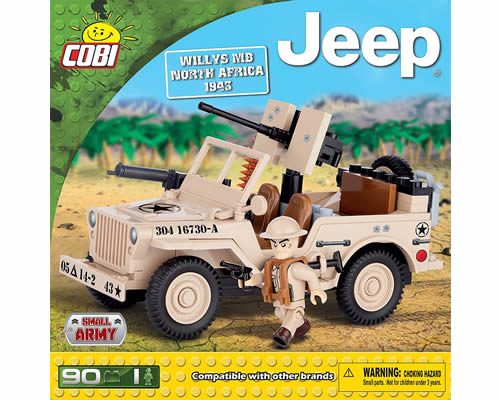 Jeep Willys MB North Africa 1943 cobi CB24093