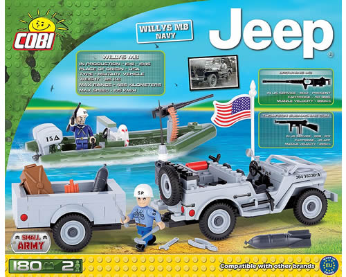 Jeep Willys MB Navy cobi CB24193