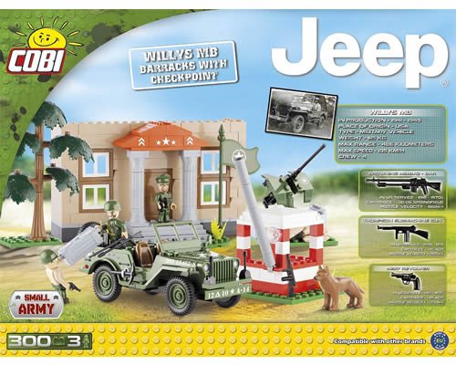Jeep Willys MB con Checkpoint cobi CB24302