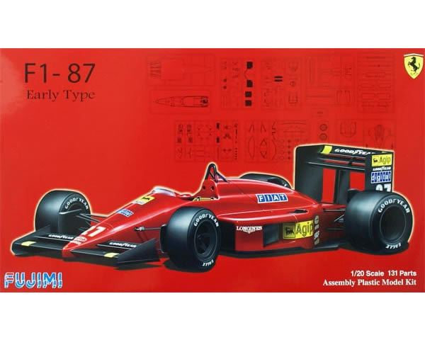 Ferrari F1-87 Early type 1:20 fujimi FUJ090634