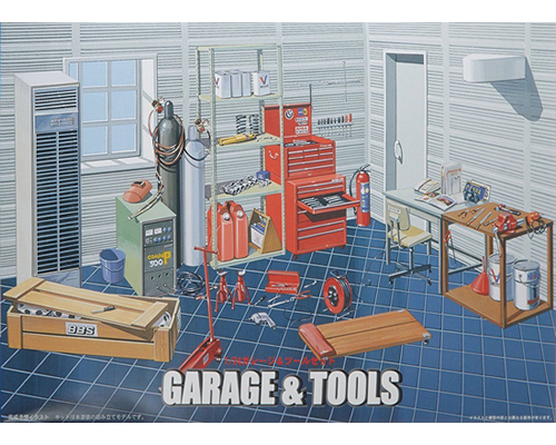 Garage - Tools 1:24 fujimi FUJ11118