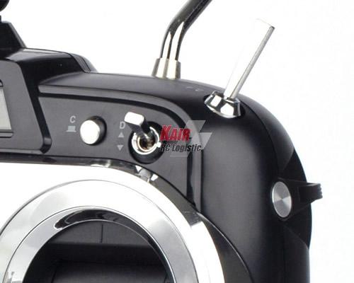 hitec modellismo Radiocomando Flash 7 Tx con 2 Rx Optima 7 Mode 1 HT170259