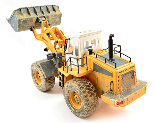 Hobby Engine Premium Label Digital 2.4G Wheeled Loader hobbyengine HE0706