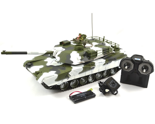 Hobby Engine Premium Label 2.4G M1A1 Abrams Tank Winter hobbyengine HE0711W