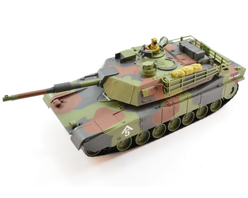 Hobby Engine M1A1 Abrams 1:20 2.4G Splash Proof Tank Camo hobbyengine HE0731