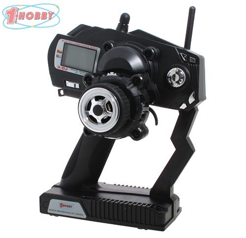 Radiocomando a volantino 3dj 2 4 ghz hobbyfirst for Caricabatterie ultimate speed