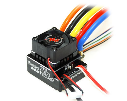 XERUN regolatore Brushless 120 A V3.1 Black Waterproof hobbywing HW-XER120V3-1-BK-WP