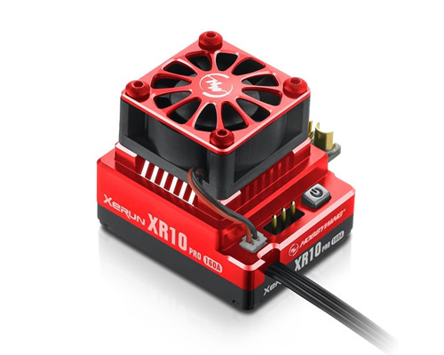 XERUN XR10 Pro V4 Regolatore Brushless 160 A Red hobbywing HW30112602