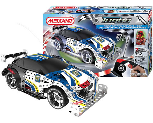 RC Rally Car meccano MEC6023590