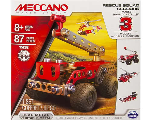 3 Model Set - Pronto intervento meccano MEC6026714