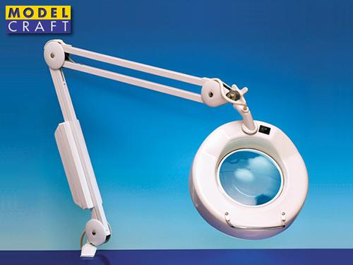 Modelcraft lampada con lente dingrandimento cercamodellismo