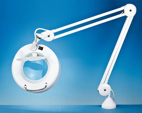 Modelcraft lampada con lente d ingrandimento lc modellismo