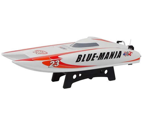 Motoscafo Catamarano Blue-Mania 2,4 GHz RTR Orange radiokontrol JSW8602