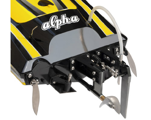 Motoscafo Offshore Alpha Yellow Brushless 2,4 GHz ARTR radiokontrol JSW8901Y
