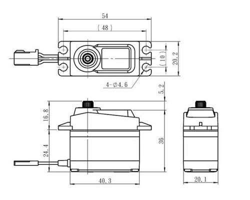 SAVOX SC-1257TG digital servo SAX100TG