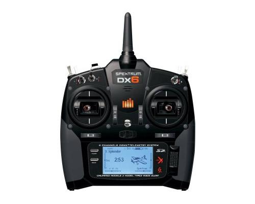 Spektrum radiocomando DX6 6ch DSMX 2,4 GHz + Rx AR610
