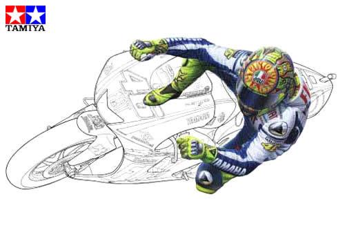 Valentino Rossi Da Colorare Pastoorvanarskijkduin