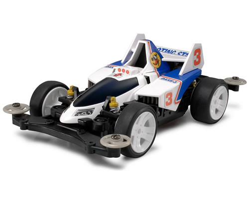 Mini4WD Pro Dash 3 Shooting Star MS Chassis tamiya TA18630