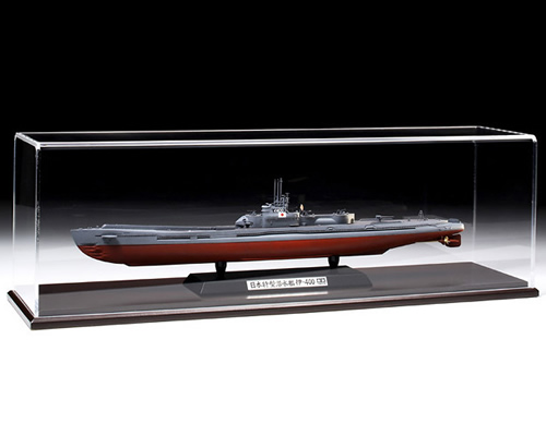 tamiya modellismo Vetrinetta M con base in legno 421x101x122 mm TA73017