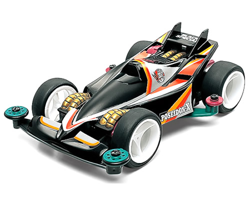 Mini4WD Limited Edition Poseidon-X Black Special tamiya TA94584