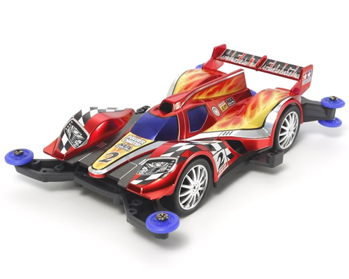 Mini4WD Pro Heat Edge Red Metallic MA Chassis tamiya TA95040