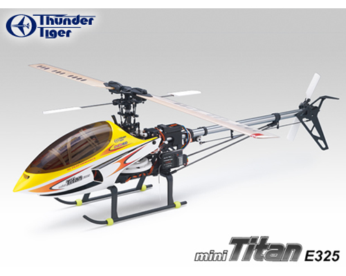 Elicottero Tiger : Elicottero brushless rc thunder tiger mini titan e