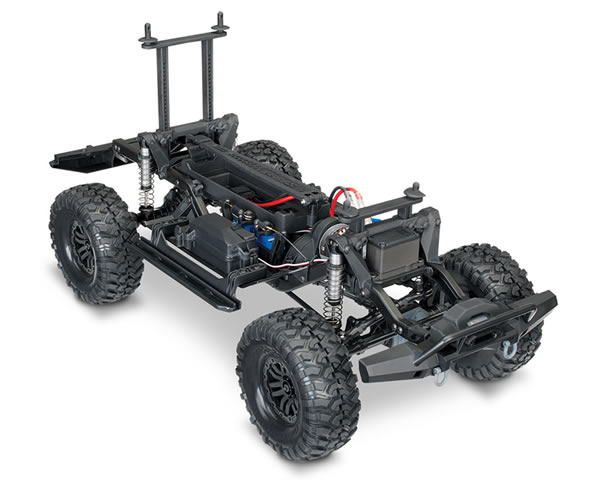 Automodello Land Rover TRX-4 Crawler 1:10 4WD RTR Red traxxas TRX82056-4R