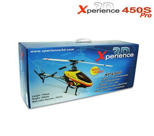 Elicottero Xperience 3d 450s : Elicottero elettrico xperience d s pro