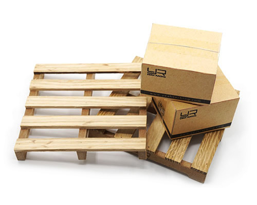 Pallet in legno in miniatura per Jeep e Crawler scala 1:10 yeahracing YA-0399